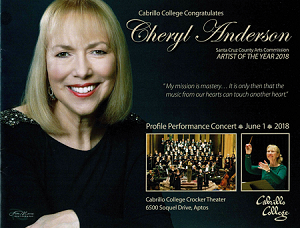 Cheryl Anderson Artist of the Year Profile Concert